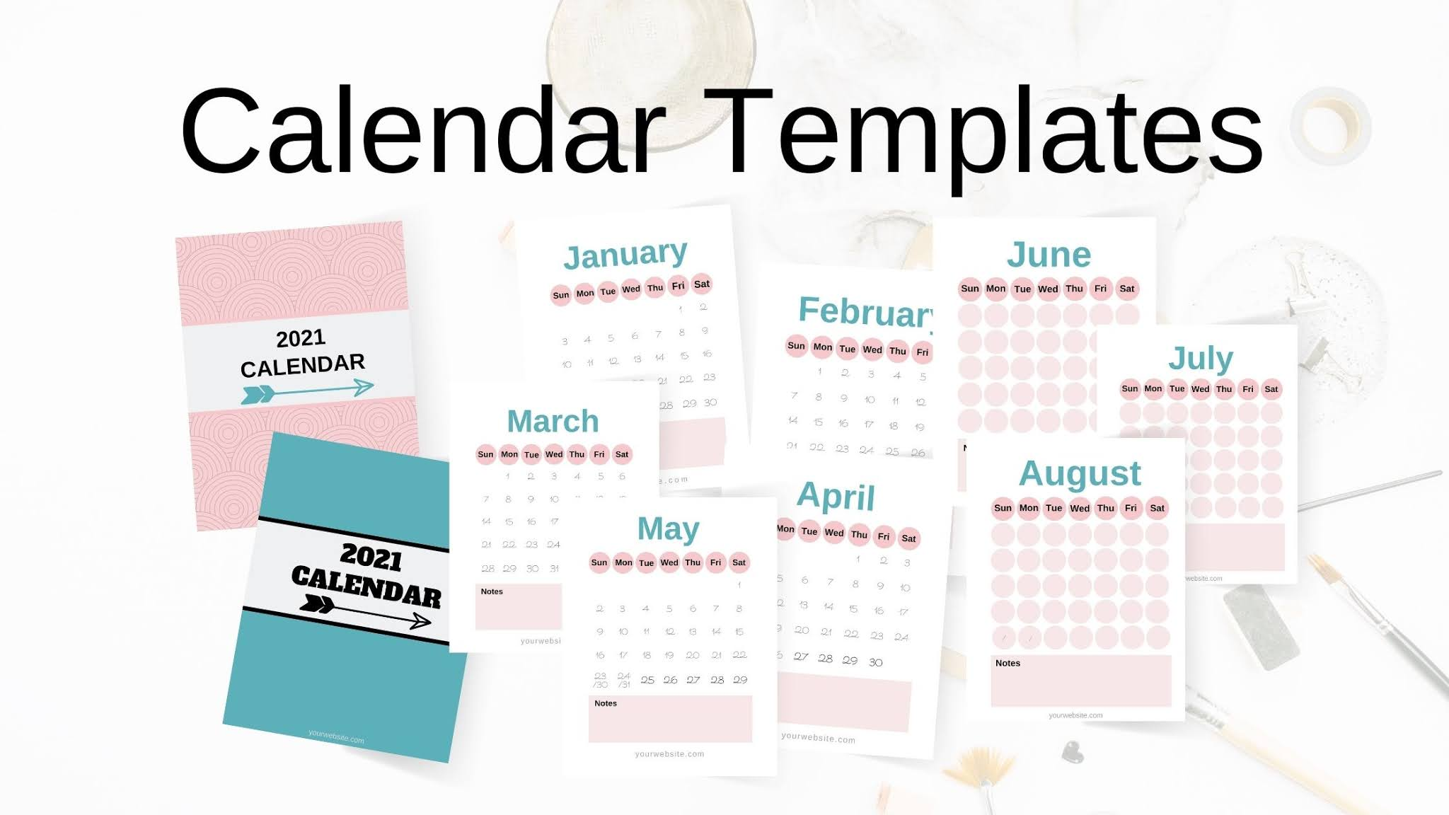Canva Calendar Templates