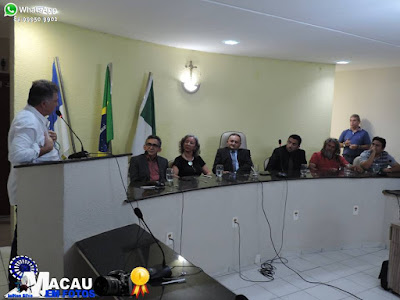 CÂMARA MUNICIPAL DE MACAU FAZ PRESTAÇÃO DE CONTAS