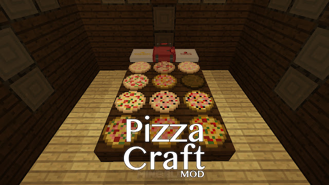 PizzaCraft Mod