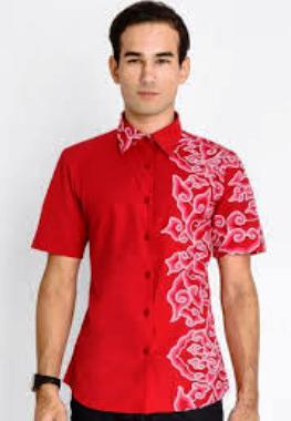 batik kombinasi pria
