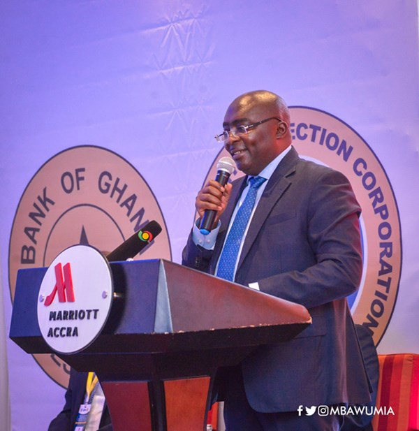 Ghana Deposit Protection Corp To Boost Confidence In Banking, Financial Sector – VP Bawumia