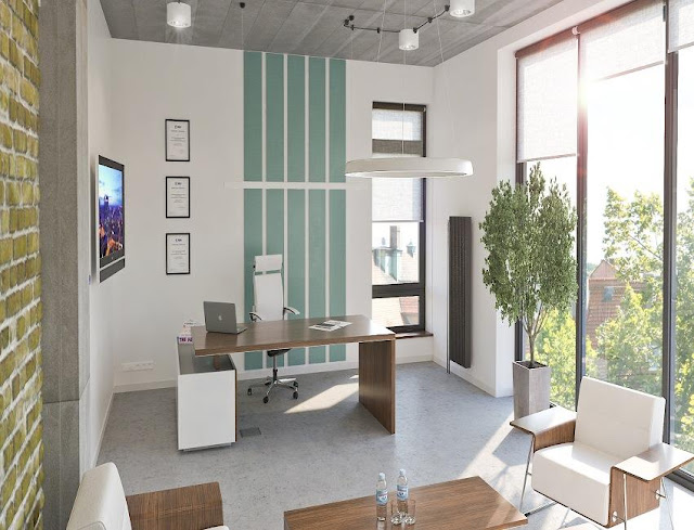 best modern executive home office desk layout ideas pictures