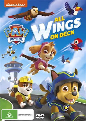 Paw Patrol All Wings On Deck 2016 DVD R2 PAL Spanish