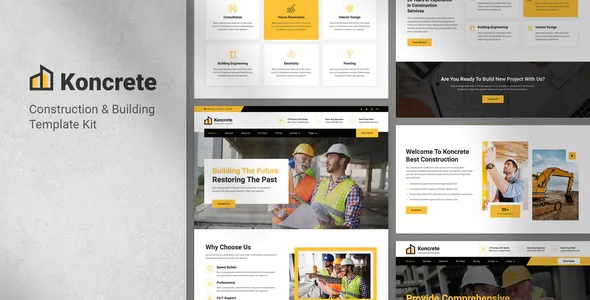 Best Construction & Building Template Kit