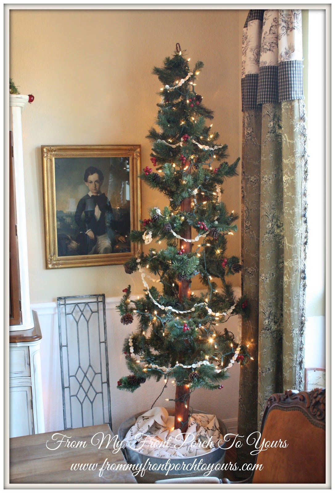 10 Cozy Decor Ideas For Your New Year S Eve Dining Room: From My Front Porch To Yours: French Farmhouse Christmas