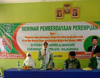PC Fatayat NU gelar Seminar Kiat Sukses Pola Pengasuhan Ibu di Era New Norma