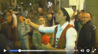 I leghisti applaudono questo tifoso albanese