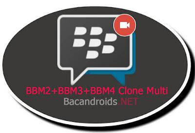 download BBM2 Versi 2.13.1.14 Mod Multi Clone BBM2+BBM3+BBM4 Support ViCall