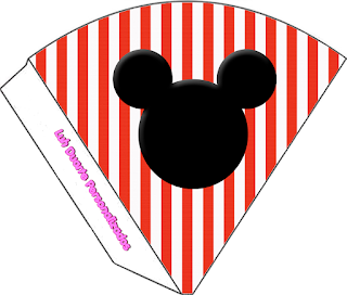 Mickey Club House Birthday Party: Free Party Printables.