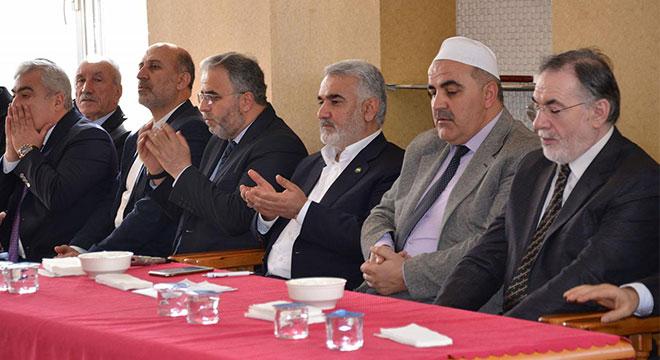 Yapıcıoğlu'dan Molla Hüseyin el-Buti'nin ailesine taziye ziyareti