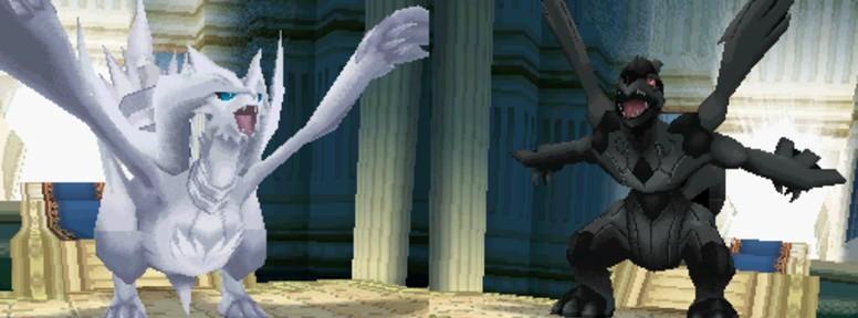 Pokémon Black White Reshiram Zekrom