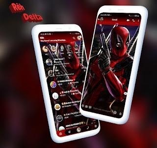Deadpool Theme For YOWhatsApp & Delta WhatsApp By Reh