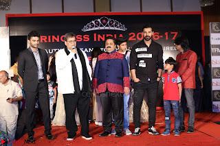 John Aham, Bhagyashree, Subhash Ghai and Amyra Dastur Attends Princess India 2016 17 016.JPG