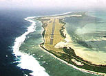 Airport on Cocos Island