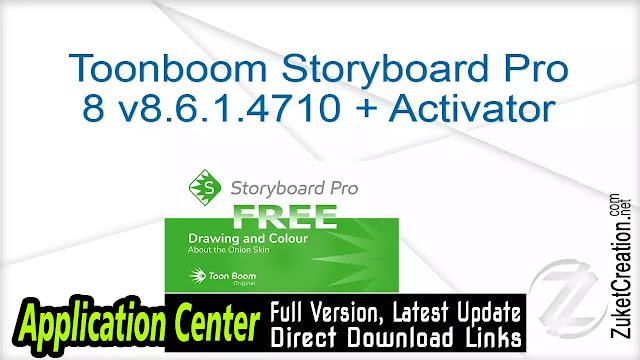 Toonboom Storyboard Pro 8 v8.6.1.4710 + Activator