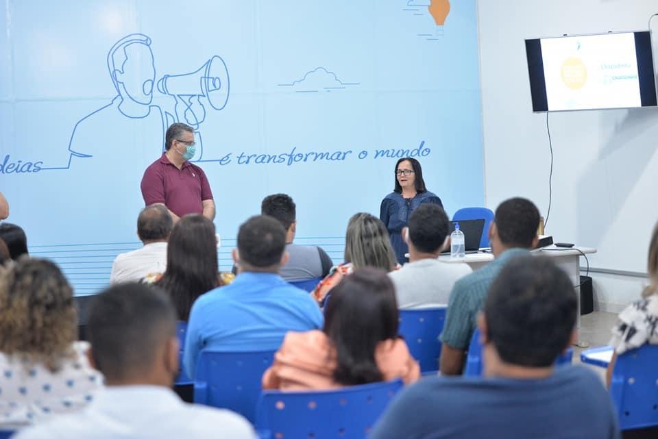 Cidade Empreendedora: Prefeita Belezinha participa de reunião sobre Planejamento Estratégico da Gestão Municipal