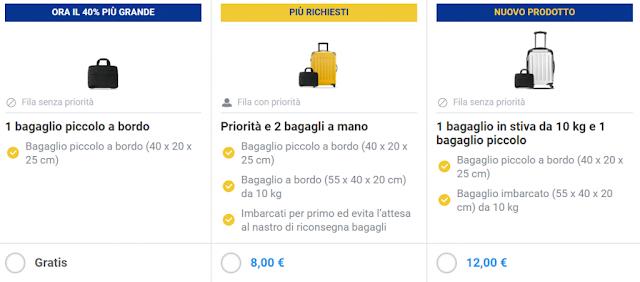 Bagaglio a mano Ryanair