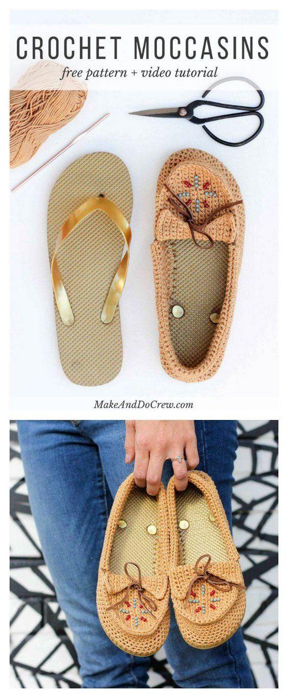 Örgü Sandalet Modelleri