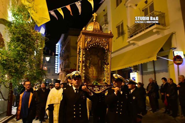 Το Ναύπλιο γιορτάζει τον Άγιο Νικόλαο (βίντεο)
