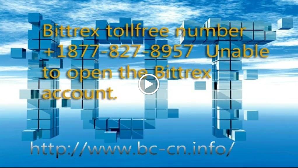 Bittrex tollfree number