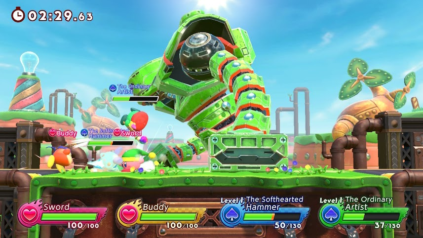 Kirby Fighters 2 Review 2 Kirby 2 Furious