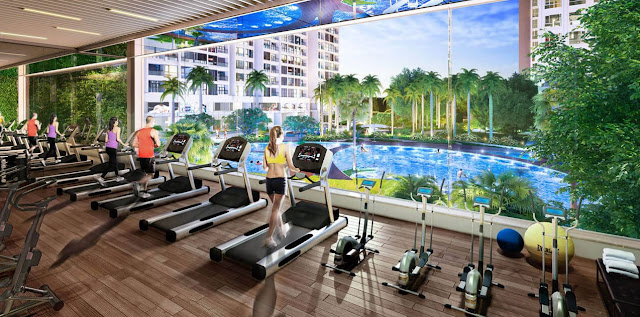 Khu tập Gym The Emerald