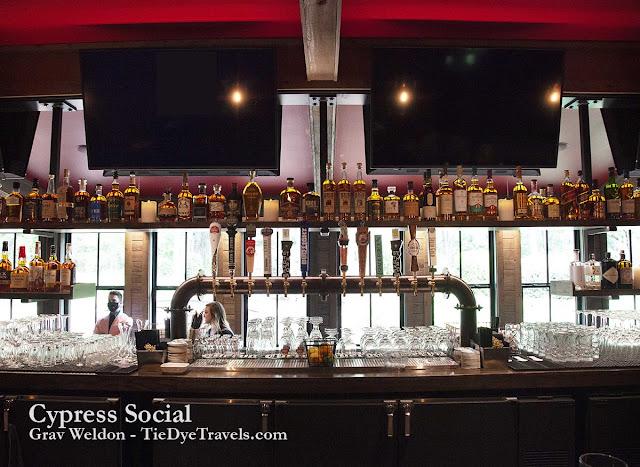 Cypress Social bar.