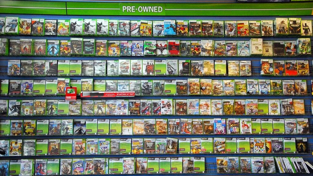 jogos de Playstation 4 e Xbox One nos EUA