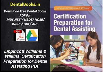 Lippincott Williams & Wilkins' Certification Preparation for Dental Assisting PDF