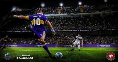 PES 2020 PS4 Option File Superliga Argentina V2 by EditemosPES
