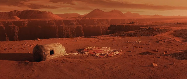 Mars lander - Mission to Mars movie image