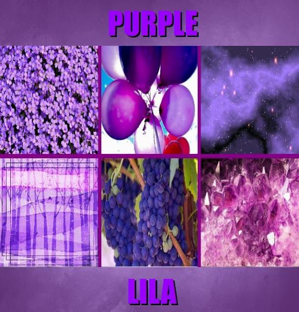 Purple in Tagalog