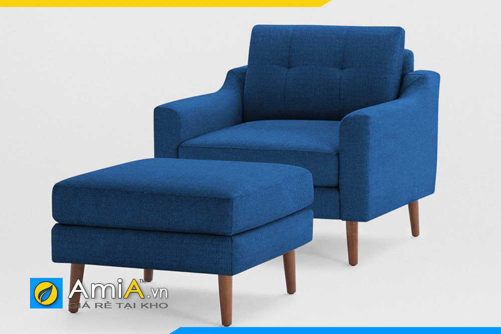 cặp ghế sofa phòng ngủ đẹp chất liệu nỉ mã AmiA 20926