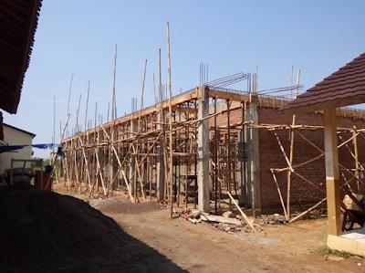 Pembangunan Ruang Kelas, Ruang Praktik & Kantin Sekolah Baru