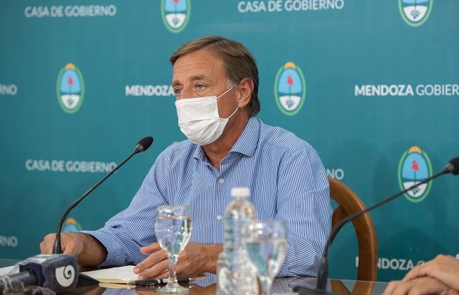 """Suarez: """"En Mendoza comenzarían las clases presenciales el primero de marzo"""""""