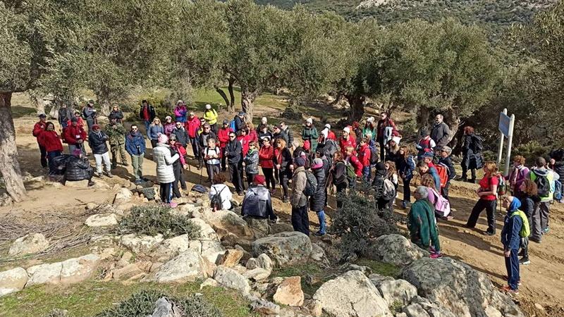 Μια ξεχωριστή εμπειρία έζησαν οι συμμετέχοντες στην πεζοπορία του Δρομέα Θράκης στην περιοχή της Μαρώνειας