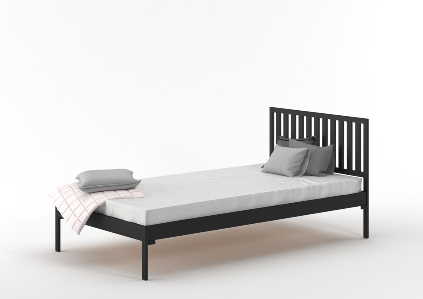 Łóżko metalowe Scandi II (wzór 34) szerokość 80-100 cm