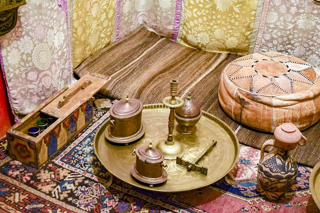 Marrakech, servicio de té en el Museo Mouassine, por El Guisante Verde Project