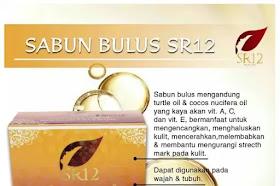 Sabun Bulus SR12 Herbal Penghilang Flek hitam Dan Jerawat Serta Pengencang Payudara