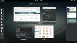 Debian 9 screenshot