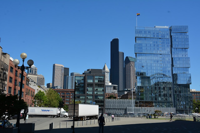 Modern buildings in Seattle