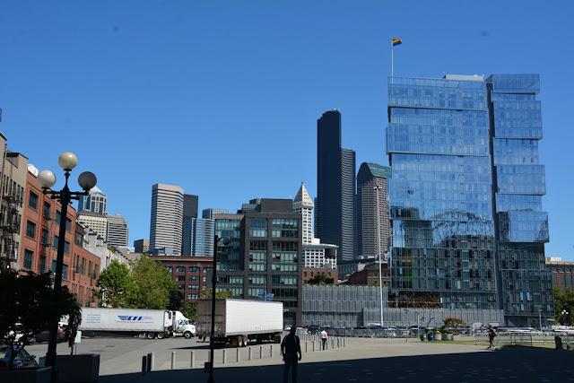 Modern buildings in Seattle