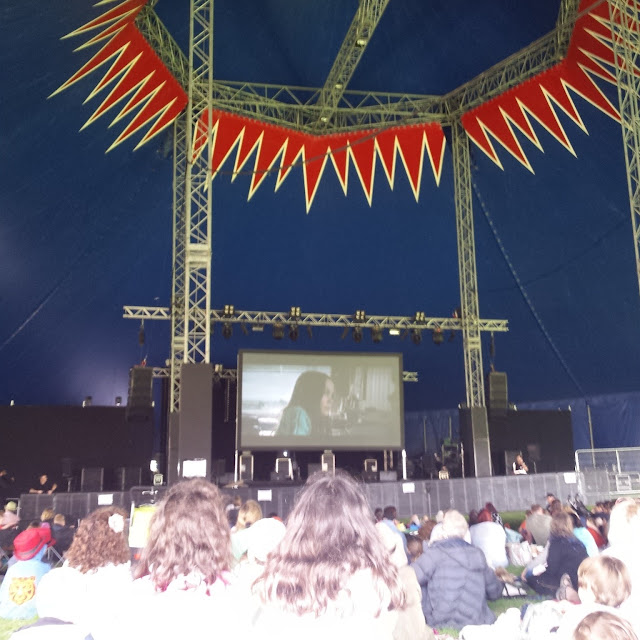 cinema in a big top