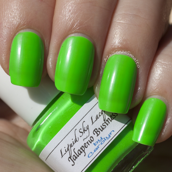 Liquid Sky Lacquer Jalapeño Business