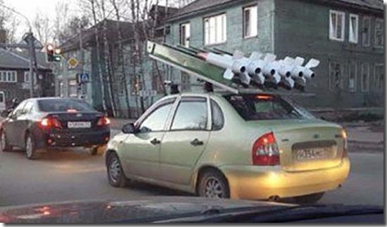 Carro Lança-mísseis