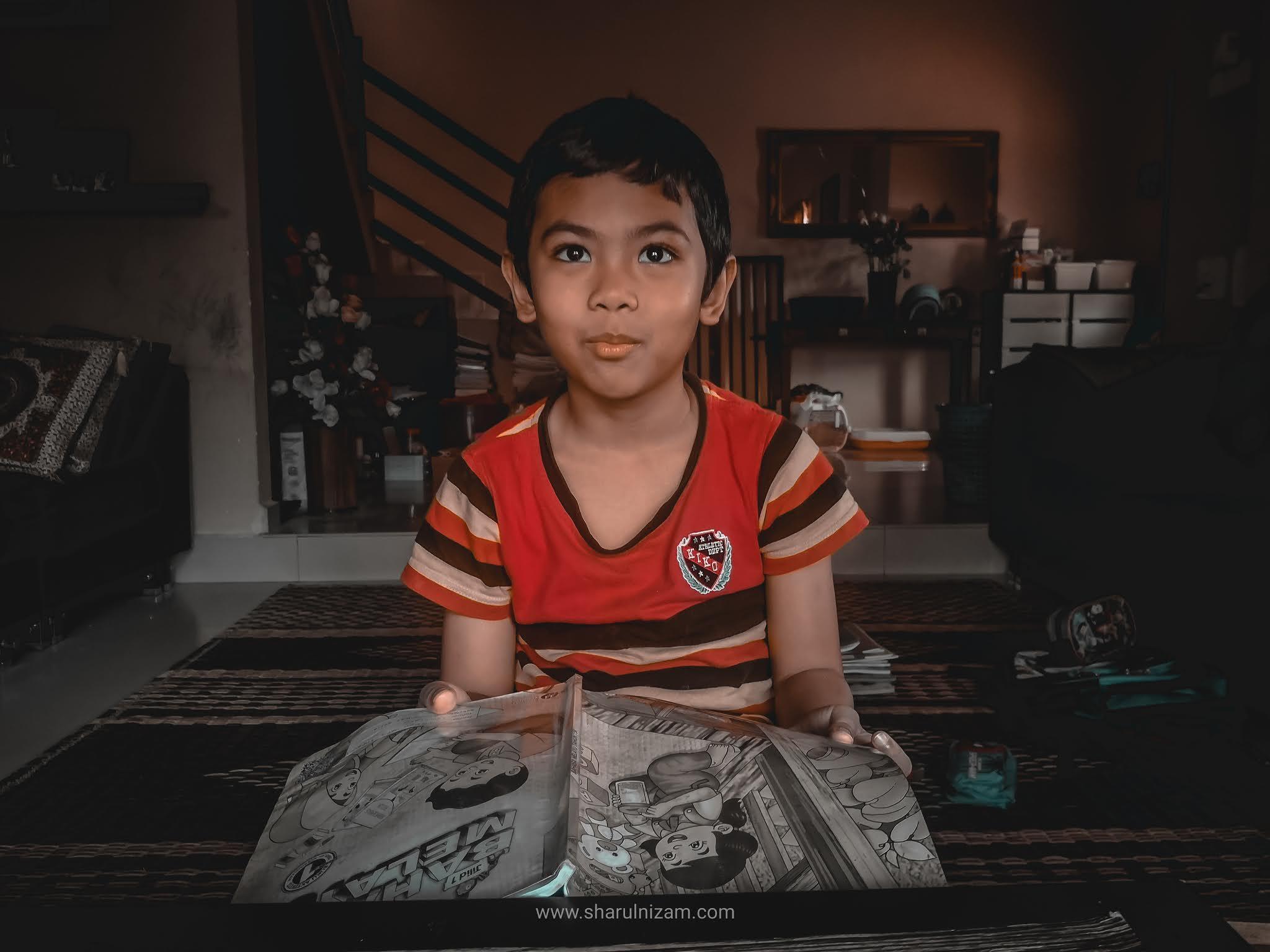 Ini Cerita Bagaimana Hafiz Memulakan Persekolahannya Selepas 4 Bulan PKP