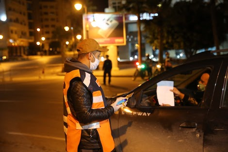 """ارتفاع حالات """"كورونا"""" يمنع التنقل الليلي في أكادير"""