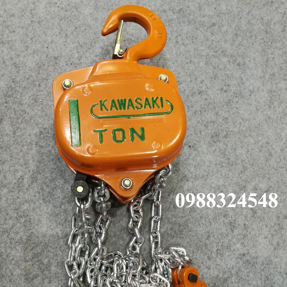 palang kéo tay Kawasaki 1 tấn