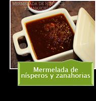 MERMELADA DE NISPEROS Y ZANAHORIAS