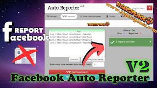 Facebook Auto Reporter v2, create short report link, direct report link, Facebook, facebook auto reporter, fb auto reporter, how to report on facebook, report on facebook, facebook auto report tool,facebook auto report bot